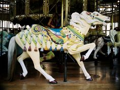 1914 Herschell-Spillman Carousel at  Golden Gate Park  San Francisco, CA