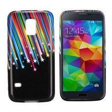 Capa Gel Samsung Galaxy S5 mini Design Natureza Meteoritos 1 R$18,80