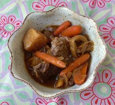Slow Cooker Nikujaga (Japanese Stewed Beef and Potatoes)