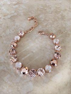 Fancy Jewellery, Cute Jewelry, Bridal Earrings, Wedding Jewelry, Or Rose, Rose Gold, Accesorios Casual, Swarovski Crystal Earrings, Ivoire