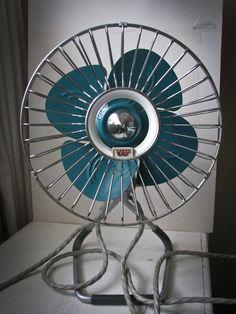 Nos Vtg 50s Vornado 32ct Twin Convertable Window Fan Eames