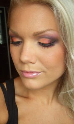 Love to mix up the eye make-up all the time- always needs to be a different look like this one. Love this