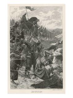 El Cid Alias Rodrigo Diaz De Vivar Killed in Battle