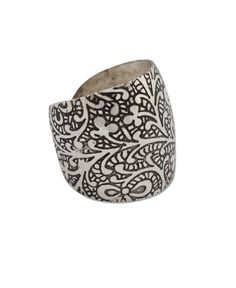 Bohemian Cuff Ring: Soul Flower Clothing