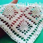 Crochet Granny, Crochet Doilies, Crochet Stitches, Crochet Baby, Crochet Cape Pattern, Crochet Shawl Diagram, Paisley Flower, Crochet Shawls And Wraps, Easy Knitting Patterns