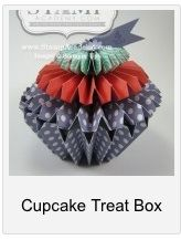 Learn how to make this adorable cupcake treatbox