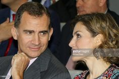 King Felipe VI of Spain and Queen Letizia of Spain deliver VI Acreditations for Honorary Ambassadors of the Spanish Brand at Ciudad BBVA on November 12, 2015 in Madrid, Spain.