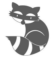 raccoon stencil - Google Search