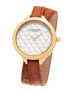 Spotted this Stührling Original Women's Leather Watch on Rue La La. Shop (quickly!).