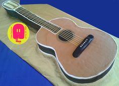 Guitar cake / Tarta Guitarra