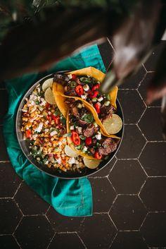 Quick and Easy Steak Tacos Healthy Taco Recipes, Healthy Snacks To Make, Healthy Tacos, Grilling Recipes, Beef Recipes, Snack Recipes, Quesadillas, Burritos, Nachos