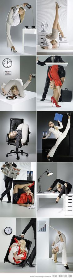 Flexible secretary… I was going to make a stupid comment but most likely my wife will read it so I better not. It will save me time and aggravation.  Lots of aggravation