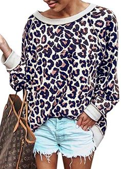 098e92b34d0 I need this sweatshirt in my life..it looks so comfy.  leopardprint   sweatshirts  womensfashion  affiliate  iframe  style