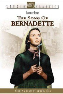 The Song of Bernadette - We saw this  in school and several times on TV at home.Beautiful spiritual film I will always remember.