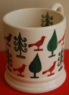 a new, unused & Emma Bridgewater 'Scandinavian Christmas' Sample HALF PINT MUG Will match the new Joy pattern perfectly! This lovely mug is a quality SAMPLE, with no chips, cracks or craz. Christmas Dishes, All Things Christmas, Coffee Cups, Tea Cups, Emma Bridgewater Pottery, Antiques Roadshow, Half Pint, Stoke On Trent, Scandinavian Christmas