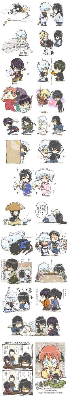 Gintama entire cast Katsura arc funny