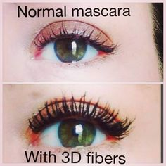 Dark long mascara! I love it! Love this beauty product! :D  Check out my facebook profile Perfect for salons :)