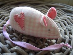 mouse pincushion, my cat would steal this from me