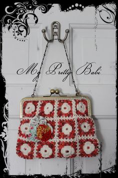 Crochet Purse Crochet Bags and Purses Handmade Bag by myprettybabi