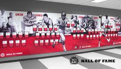 NIU Hall Of Fame 1978 - 1986  ||  Streng Design & Advertising #graphicdesign #displaygraphics