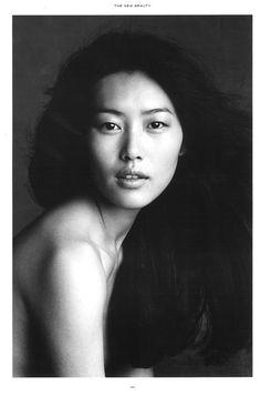 Liu Wen by Patrick Demarchelier