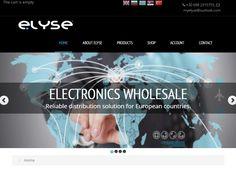 Myelyse Electronics Portfolio Web Design, Design Development, Electronics, Website, Consumer Electronics