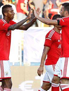 """BENFICA GLORIOSO...: Estoril – Benfica, 2-3 Jorge Jesus: """"Somos uma equipa forte e ganhámos justamente"""""""