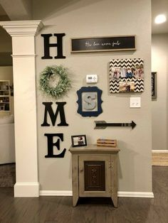 Pictures For Kitchen Walls, Wall Pictures, Living Room Interior, Living Room On A Budget, Farmhouse Wall Decor, Farmhouse Style, Home Budget, Christmas Kitchen, Kitchen Ideas