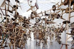 "Installation Art | Ai Wei Wei ""Bang"" Installation at Venice Art Biennale 2013 