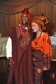 Nigerian (yoruba) and Chinese wedding traditions.