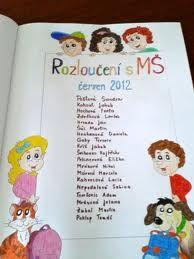 Výsledek obrázku pro tablo predškolákov