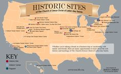 Historic Sites of The Church of Jesus Christ of Latter-day Saints (LDS/Mormon)