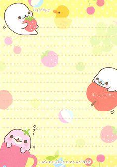 "San-X Mamegoma ""Favorite Things"" Memo (1) (Sheet) (1) | by Crazy Sugarbunny"