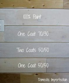 Painted Plank Walls Finally Whitewash Ratios Domestic Imperfection The post Painted Plank Walls Finally appeared first on Wood Diy. Knotty Pine Paneling, Knotty Pine Walls, Painted Wood Walls, Wood Panel Walls, Wooden Walls, White Washed Pine, White Wood, Painting Wood Paneling, Painting Walls