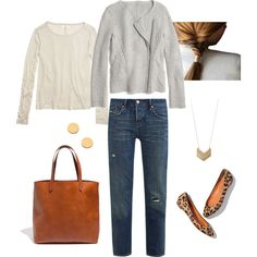 """""""Leopard and Gray"""" by bluehydrangea on Polyvore"""