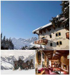 Hotel de Charme Les Airelles in Le Jardin Alpin for a winter wedding