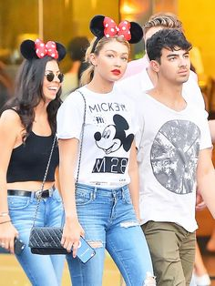 celebrity disneyland outfit ideas: Perfect for on AND off the Matterhorn! via @WhoWhatWear