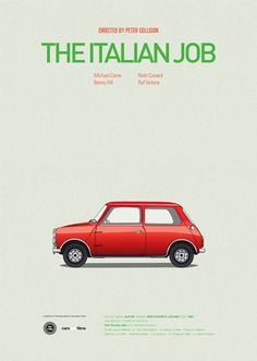 Cars & Films – Posters of cars from cult movies
