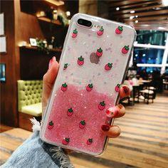 Cute Watermelon Strawberry iPhone Case Diy Iphone Case, Iphone 6, Iphone Cases, Cute Cases, Cute Phone Cases, Mobile Phone Cases, Phone Covers, Tumblr Phone Case, Airpods Apple