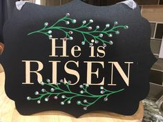Chalk Couture - He is Risen {Chalk Transfer} #chalkcouture (via Shauna Self)