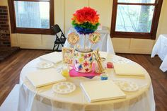 art centerpieces paint can - Google Search