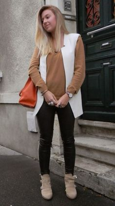 Excellent Skinny Jeans And Ankle Boots For Fall | tenuestyle