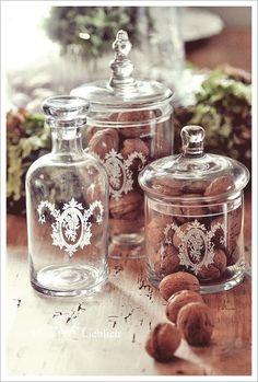 #walnuts #autumn #glass