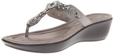 Minnetonka Women's Boca II TH Wedge Sandal,Pewter, Minnetonka http://www.amazon.com/dp/B00E83ONZ8/ref=cm_sw_r_pi_dp_.zlWtb1DGWM1XSJ6