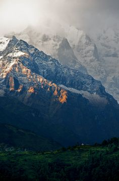 Our peace shall stand as firm as rocky mountains. ~ William Shakespeare ~ image Annapurna , Nepal, by Carl S Zhang Nepal, Oh The Places You'll Go, Places To Visit, Beautiful World, Beautiful Places, Landscape Photography, Nature Photography, All Nature, To Infinity And Beyond