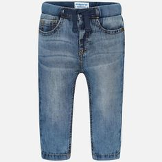 Mayoral Girls Trousers Blue Light Blue