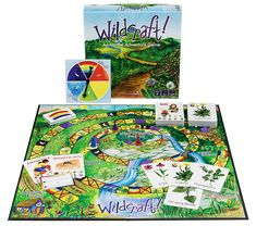 Wildcraft: An Herbal Adventure Game - Learning herbs an amazing family board game to teach you about wild herbs