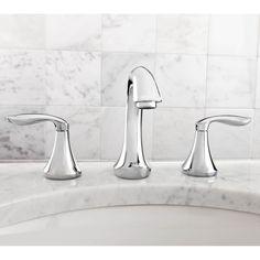 Moen Eva Two Handle Widespread Bathroom Faucet - Badezimmer Amaturen