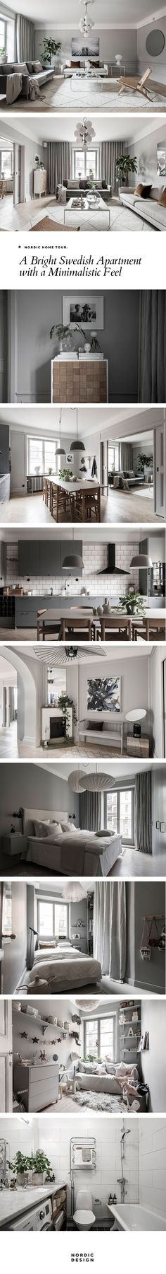 Nordic home tour: A bright Swedish apartment with a minimalistic feel | NORDICDESIGN