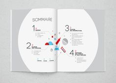 Data I Annual report on Behance